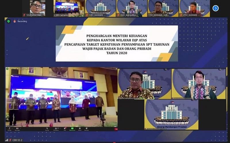Pengumuman penghargaan Menteri Keuangan soal kepatuhan penyampaian SPT Tahunan