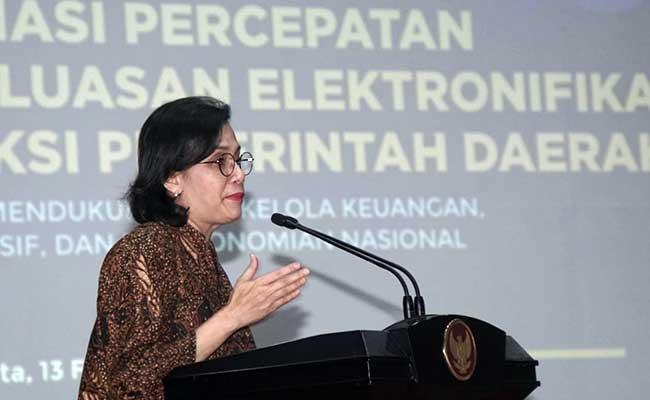 Menteri Keuangan Sri Mulyani Indrawati. Bisnis - Himawan L Nugraha