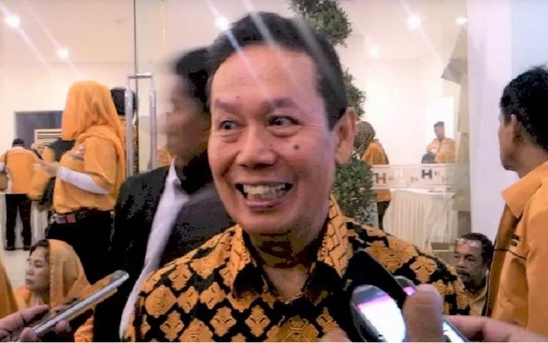 Ambroncius Nababan, tersangka dugaan ujaran rasisme terhadap Natalius Pigau. - Istimewa