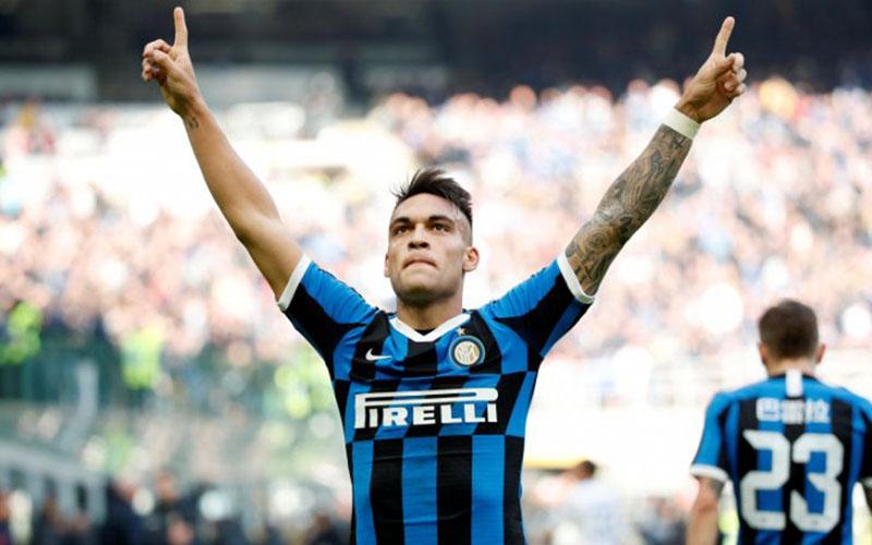 Striker Inter Milan Lautaro Martinez/Antara - Reuters
