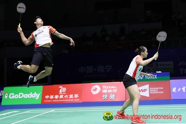Praveen Jordan/Melati Daeva Oktavianti - badmintonindonesia.org