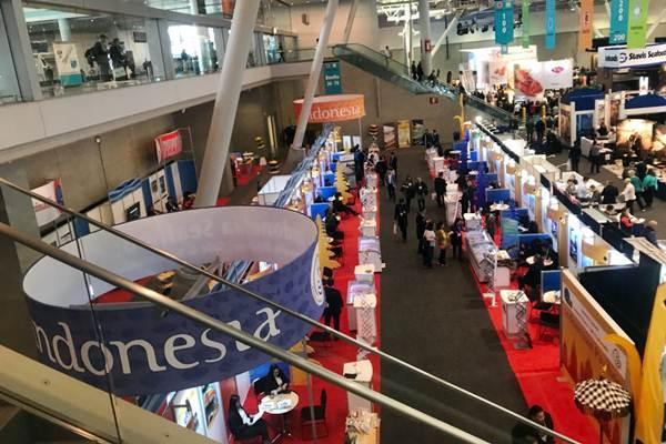 Paviliun Indonesia turut meramaikan Seafood Expo North America (SENA) yang dibuka di Boston, Amerika Serikat, Minggu (11/3/2018) pagi waktu setempat. - JIBI/Hery Trianto