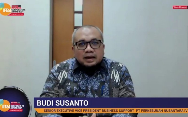 SEVP Business Support PTPN IV Budi Susanto
