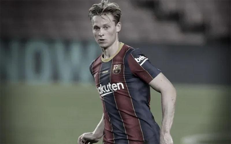 Gelandang Barcelona Frenkie de Jong - FCBarcelona.com