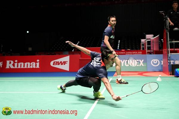 Mohammad Ahsan-Hendra Setiawan - Badminton Indonesia