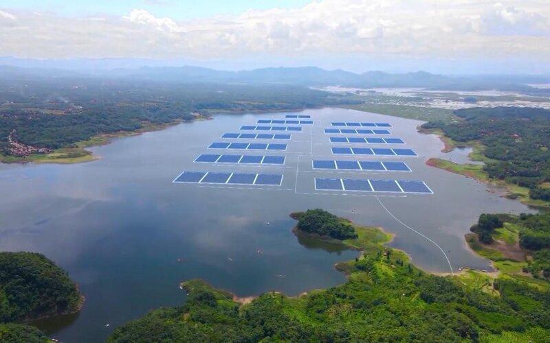 PLTS Terapung Cirata 145 MW yang terbesar di Asia Tenggara - BKPM