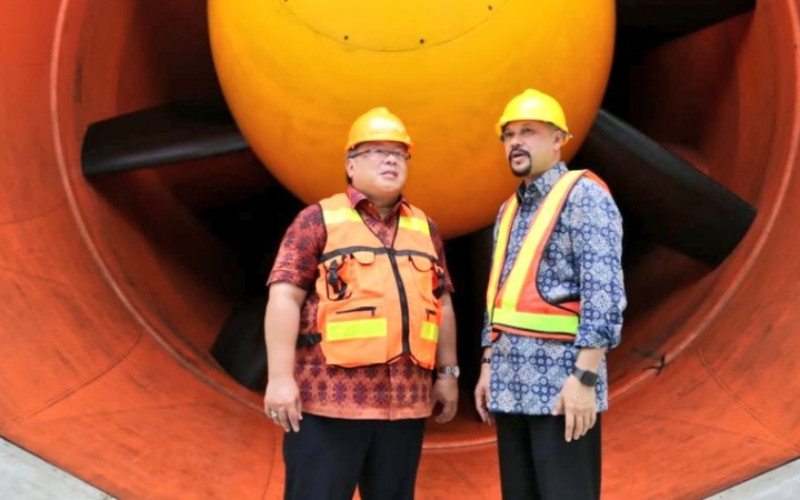 Menteri Riset Teknologi - BRIN Bambang PS Brodjonegoro dan Kepala BPPT Hammam Riza / BPPT
