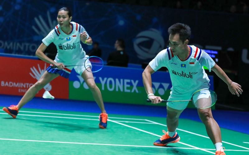 Ganda campuran Hafiz Faizal-Gloria Emanuelle Widjaja - Badminton Indonesia