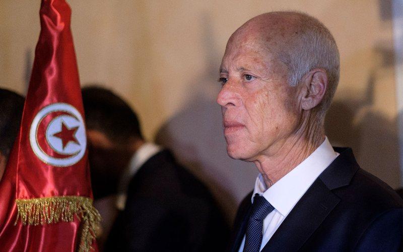Presiden Tunisia Kais Saied / Bloomberg