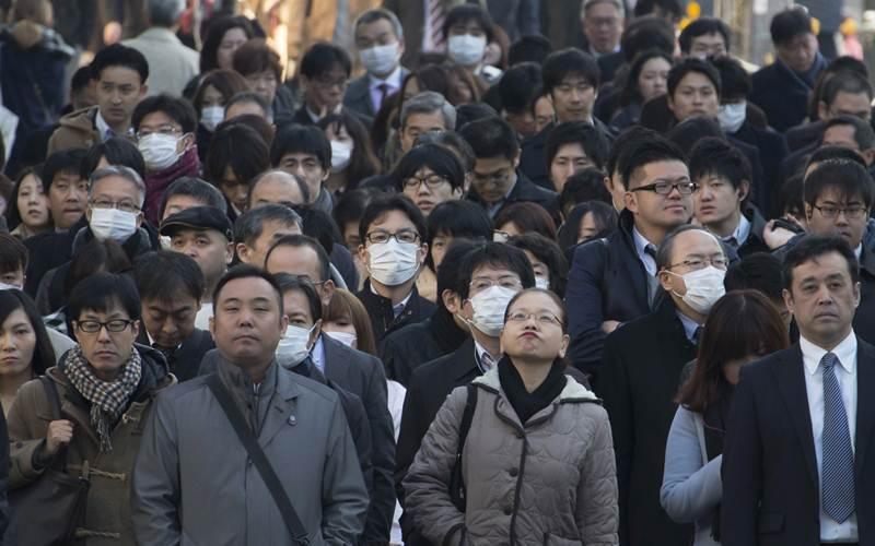 Ilustrasi - Tenaga kerja di Jepang - Bloomberg