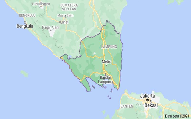 Peta Lampung