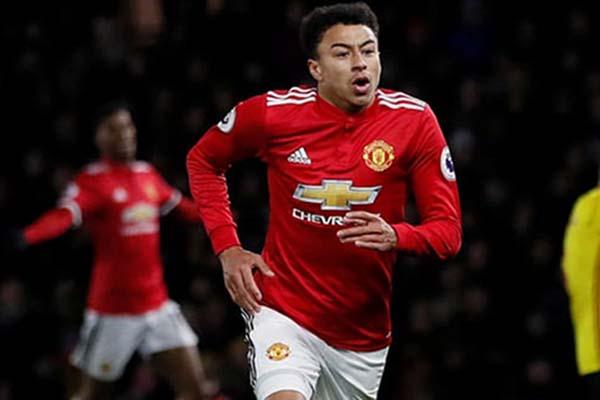 Pemain sayap Manchester United Jesse Lingard - Reuters/David Klein