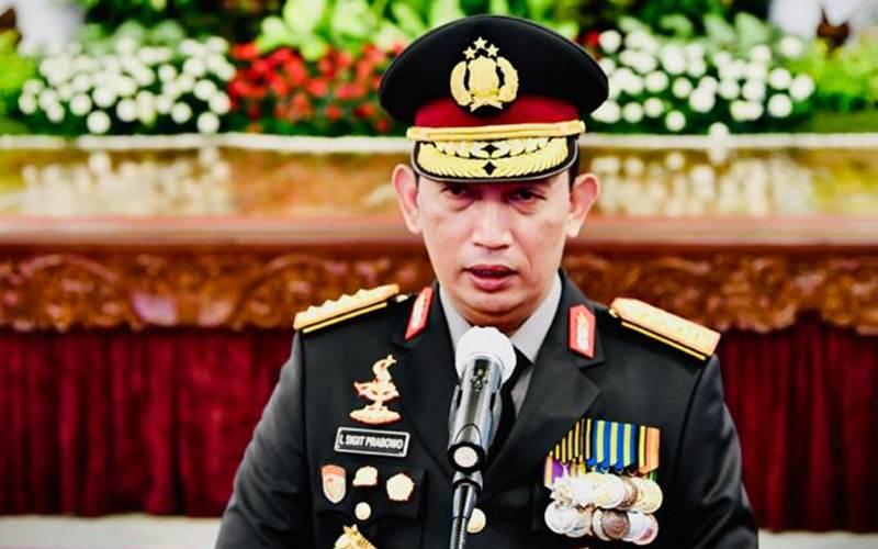 Kapolri Jenderal Pol. Listyo Sigit Prabowo - Biro Pers Sekretariat Presiden/ Lukas