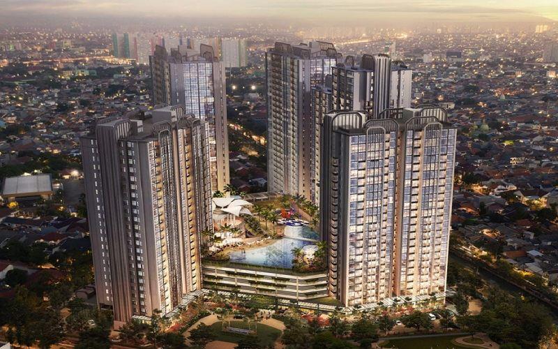 Gambar kawasan Arandra Residence yang dikembangkan Group KPN Properti Indonesia di Jakarta Pusat. - Istimewa