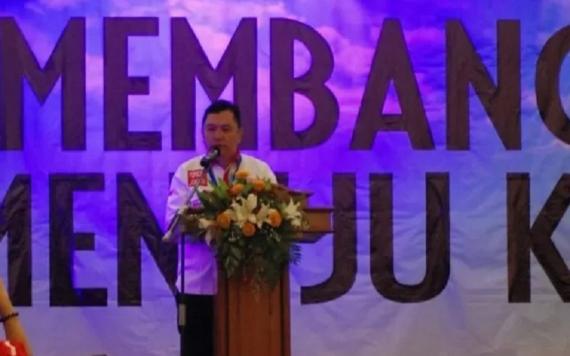 Ketua Umum Dewan Pengurus Pusat Forum Relawan Demokrasi (Foreder) Aidil Fitri. - Antara\r\n\r\n