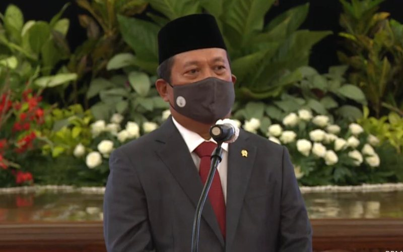 Menteri Kelautan dan Perikanan Sakti Wahyu Trenggono / Youtube Setpres