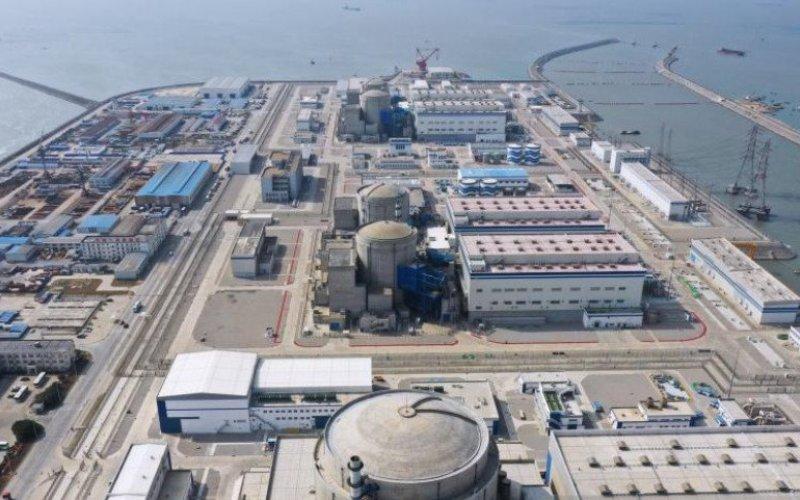 Hualong One, reaktor nuklir generasi ketiga China, yang baru dioperasikan di pesisir Provinsi Fujian/Antara - HO/People's Daily