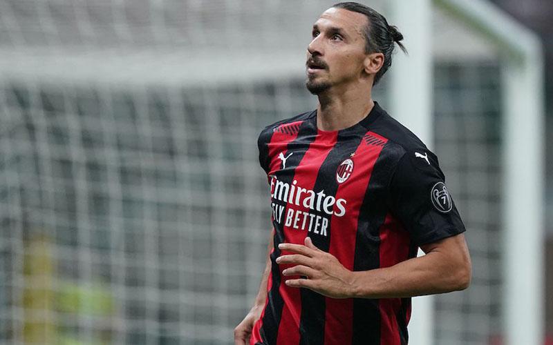 Striker AC Milan Zlatan Ibrahimovic. - Sempre Milan