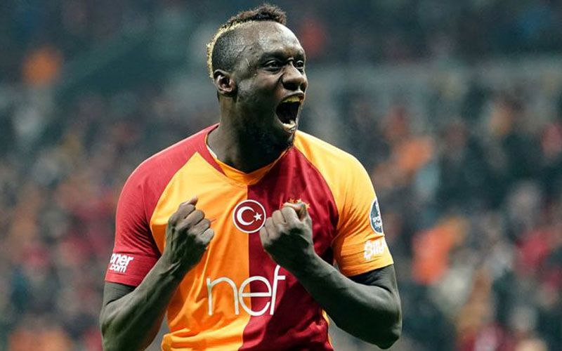 Striker Galatasaray Mbaye Diagne dipinjamkan ke West Bromwich Albion. - Sky Sports
