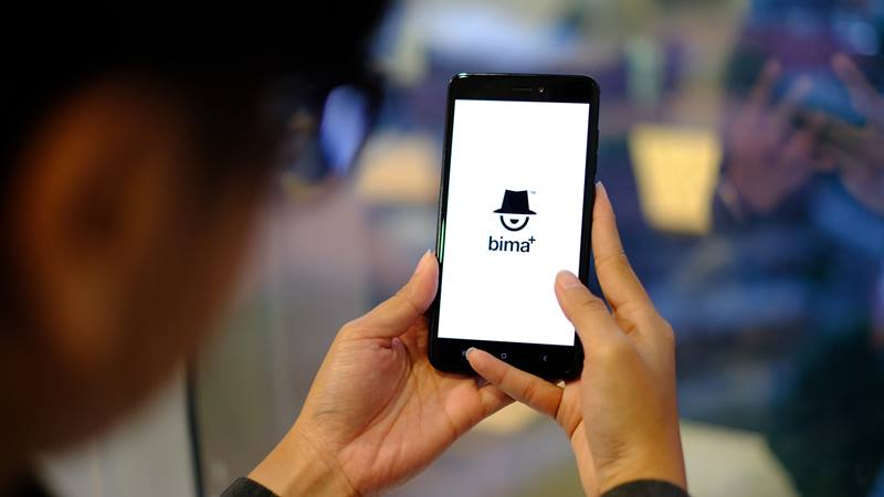 Aplikasi Bima yang disediakan PT Hutchison 3 Indonesia (Tri Indonesia) untuk pelanggannya. - dok. Tri Indonesia