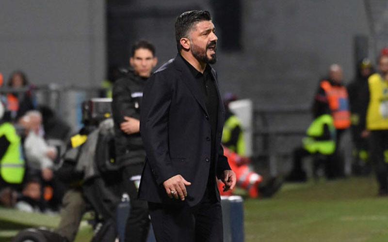 Pelatih Napoli Gennaro Gattuso. - Twitter Napoli
