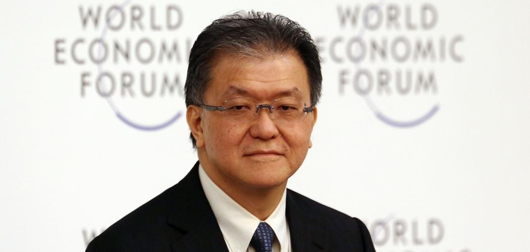 Franky Oesman Widjaja, Chairman dan Chief Executive Officer Golden Agri-Resources Ltd., menghadiri World Economic Forum on East Asia di Naypyidaw, Myanmar, Kamis (6/6/2013) . -  Bloomberg/Dario Pignatelli.
