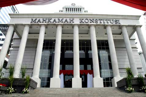 Ilustrasi - Gedung Mahakamah Konstitusi - Istimewa