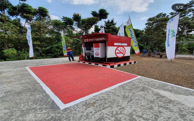 Sebanyak 28 Pertashop di wilayah Sumatra Bagian Selatan resmi beroperasi untuk menyalurkan BBM di pedesaan. istimewa