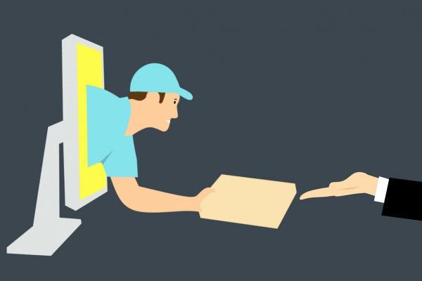 Ilustrasi e-commerce. - CC0