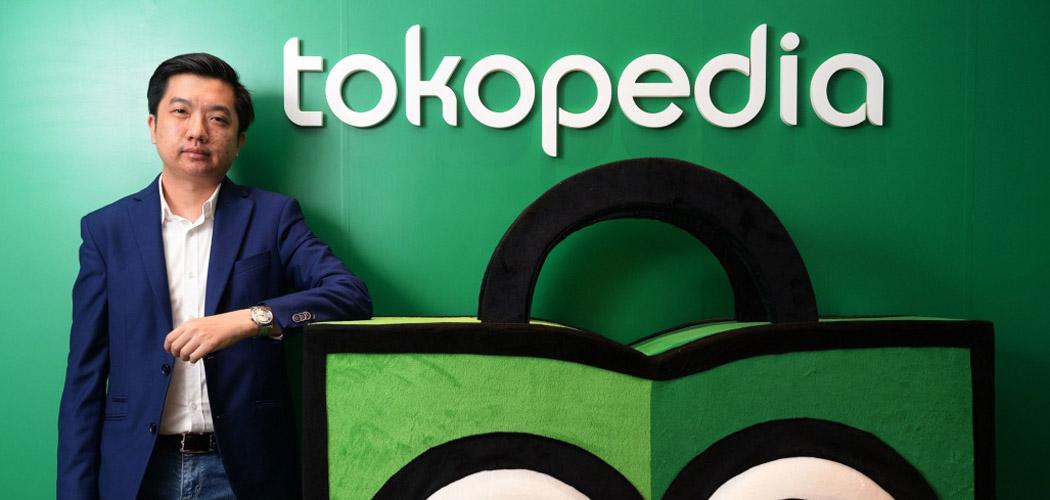 Pendiri dan CEO Tokopedia William Tanuwijaya berfoto di kantor pusat e-commerce tersebut di Jakarta, Indonesia, Jumat (19/2/2016). - Bloomberg/Dimas Ardian