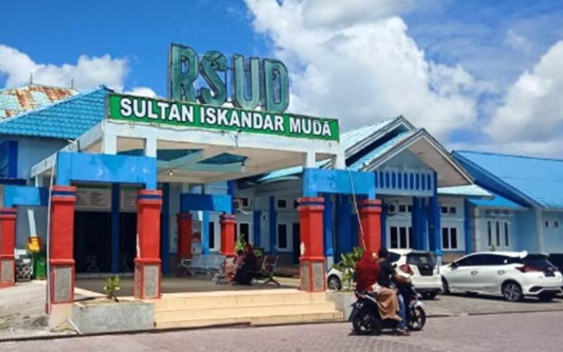 Rumah Sakit Umum Daerah (RSUD) Sultan Iskandar Muda Kabupaten Nagan Raya, Provinsi Aceh. - Antara/Teuku Dedi Iskandar