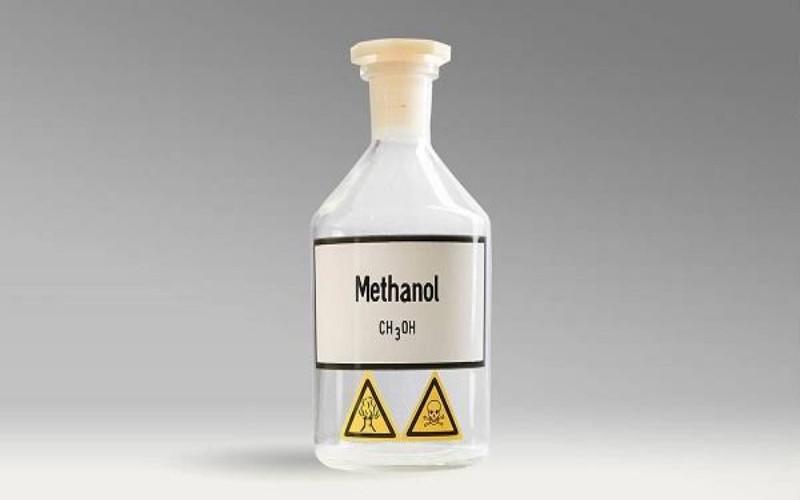 Ilustrasi Metanol -