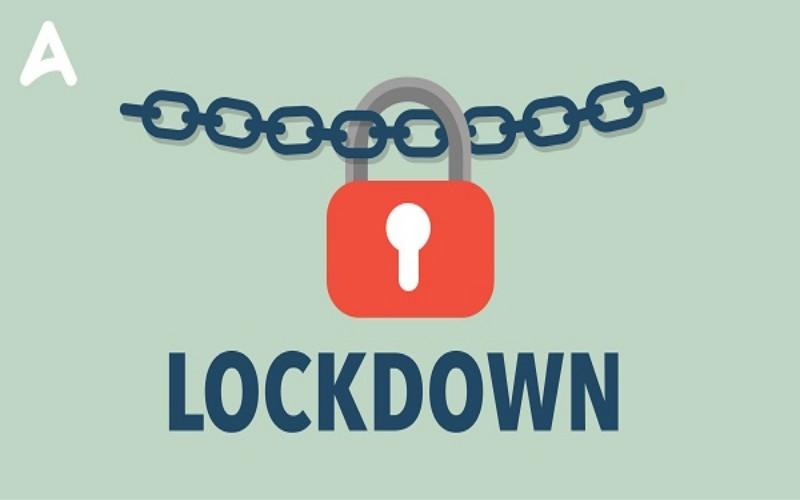 Ilustrasi lockdown -