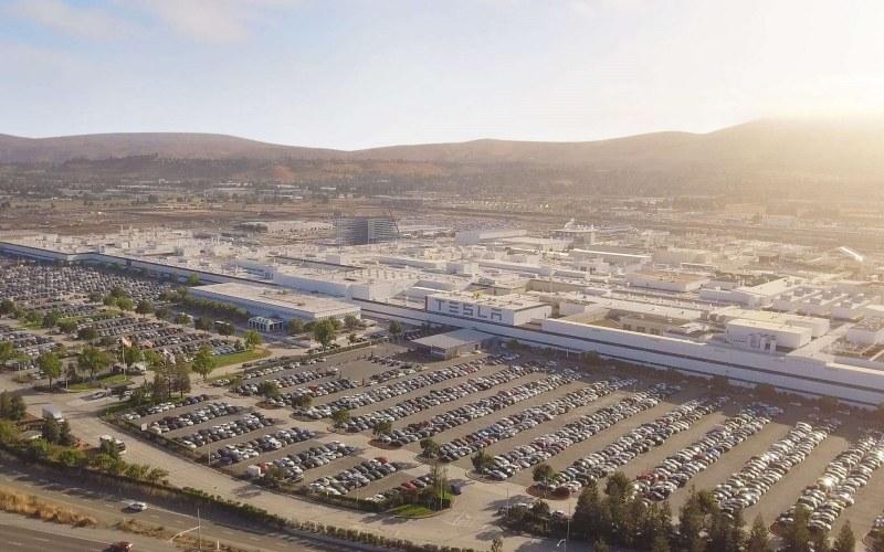Pabrik Tesla di Fremont, California, AS. - Istimewa/Tesla.com