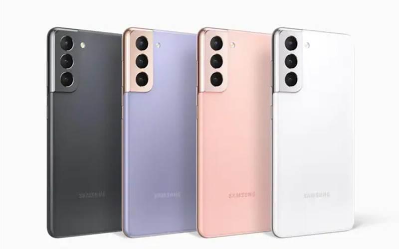 Ilustrasi Samsung S21 - Samsung