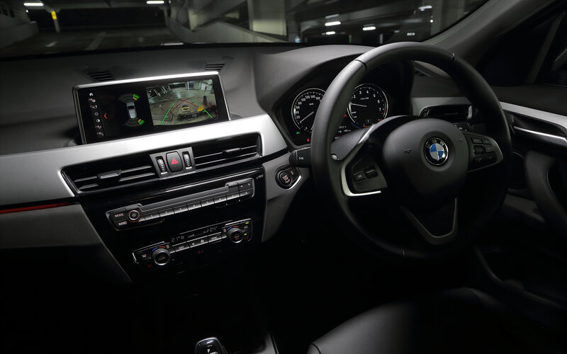 Interior BMW X1 sDrive18i.