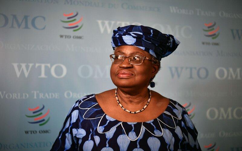 Ngozi Okonjo-Iweala, Mantan Menteri Keuangan Nigeria, yang kini menjabat sebagai Dirjen WTO -  Bloomberg