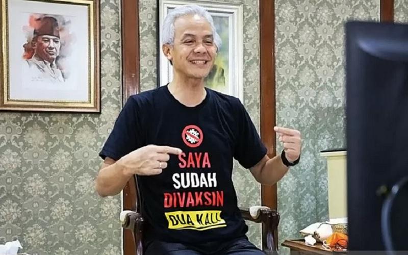 Gubernur Jawa Tengah Ganjar Pranowo. - Antara\r\n