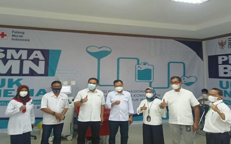 PT Semen Tonasa Dukung Gerakan Nasional Donor Plasma Konvaselen - Istimewa
