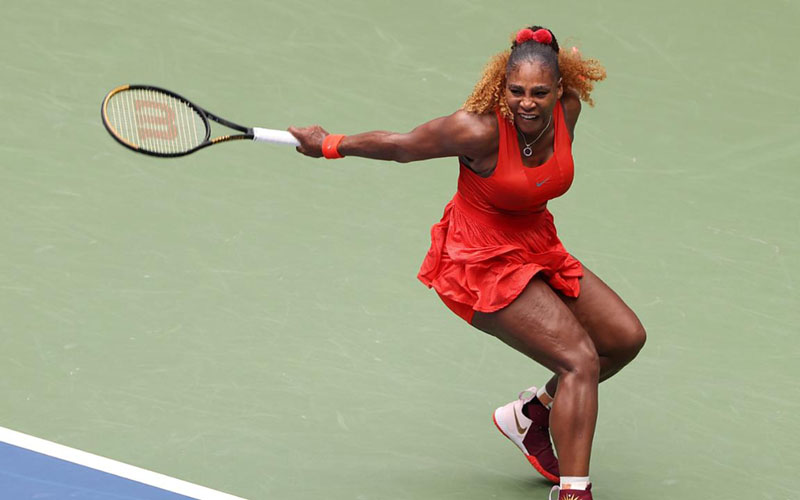 Petenis AS Serena Williams - USOpen.org