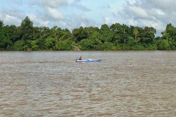 Sungai Kayan Kalimantan Utara - Istimewa