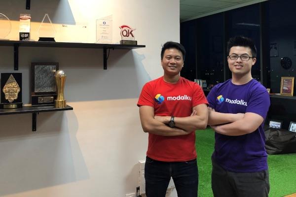Reynold Wijaya (CEO & Co-Founder Modalku) dan Iwan Kurniawan (COO & Co-Founder Modalku). - Istimewa