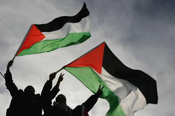Bendera Palestina - aljazeera.net