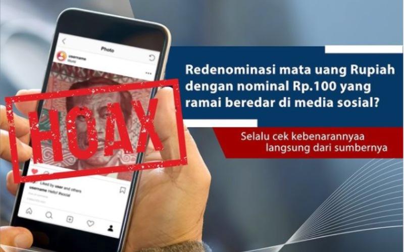 Unggahan Bank Indonesia terkait Kabar Uang Redenominasi - @bank_indonesia