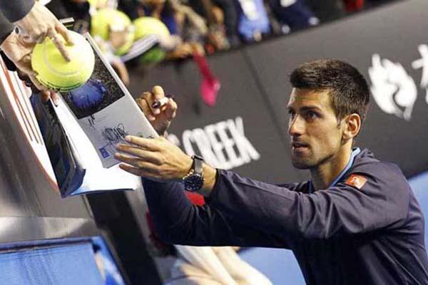 Petenis Serbia Novak Djokovic, juara bertahan single putra Australia Terbuka. - Reuters