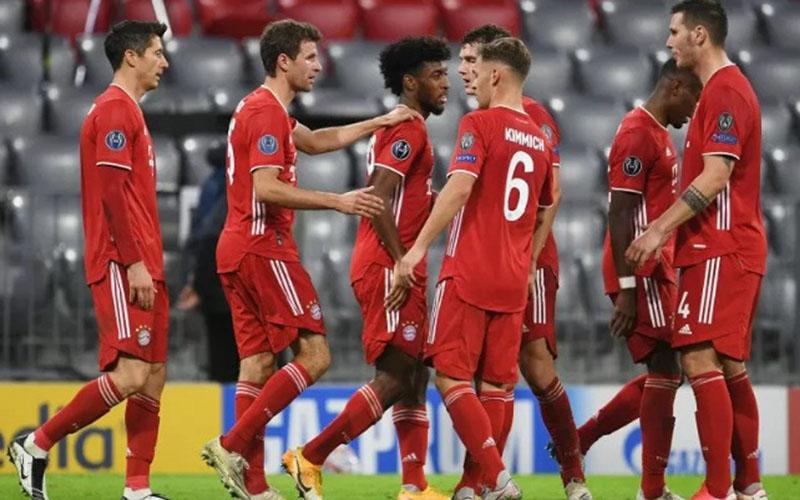 Bayern Munchen memimpin klasemen sementara Bundesliga./Antara - Reuters