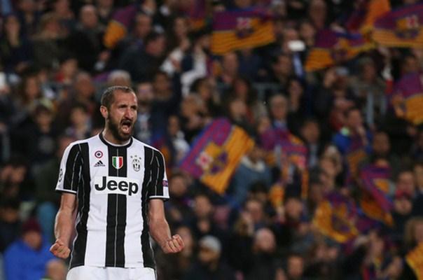 Bek Juventus, Giorgio Chiellini - Reuters