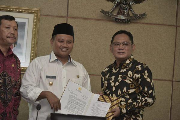 Wakil Gubernur Jawa Barat Uu Ruzhanul Ulum. - Bisnis/Wisnu Wage