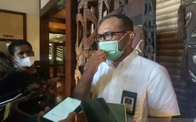Direktur PT Freeport Indonesia Claus Wamafma. - Antara/Evarianus Supar