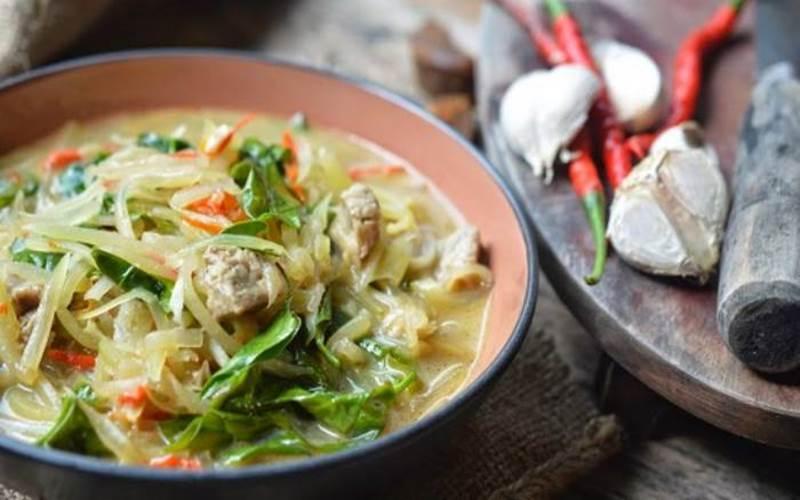 Salah satu menu masakan Gorontalo